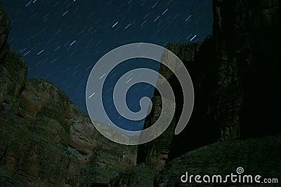 Stars over Grand Canyon