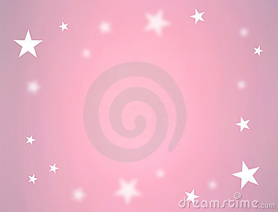 Stars on pink color