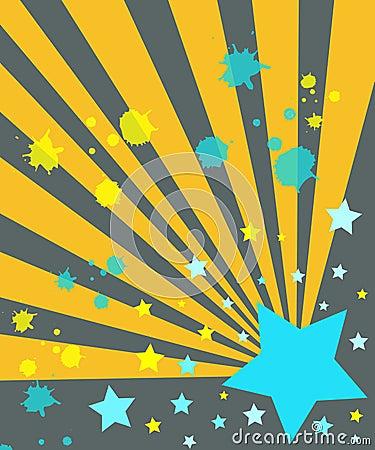 Stars and rays