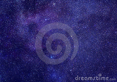 Stars space background