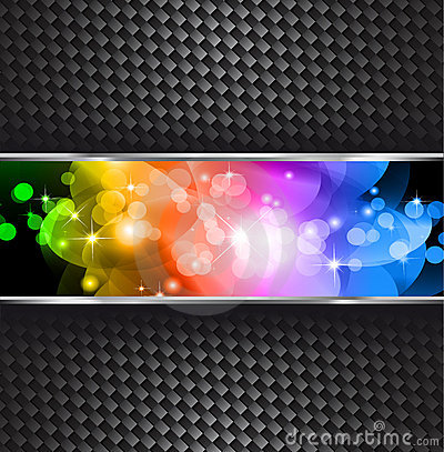 Stars Sparkle Background with Rainbow Gradient