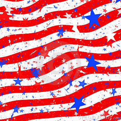 Stars and stripes us flag