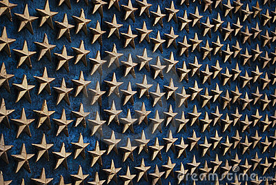 Stars at WWII Memorial 3 - Washington DC