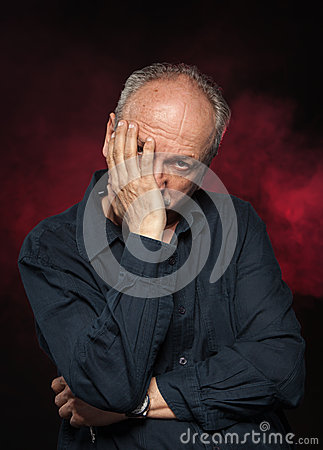 Starsza osoba mężczyzna