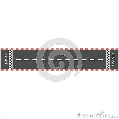 Start Vector Illustration