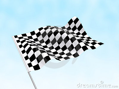 Start Finish Flag