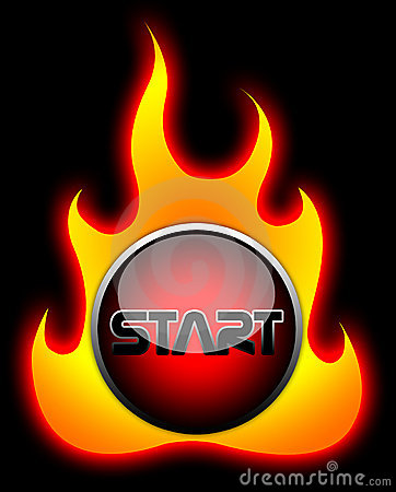 Start Flame Button