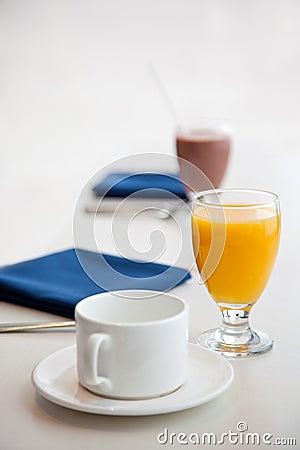 Start of a healthy breakfast