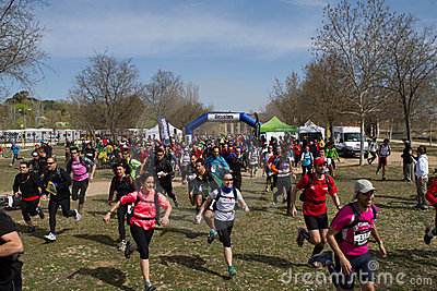 Start race Editorial Photography