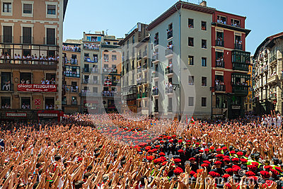 Start of San Fermin festival Editorial Photo