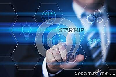 Start-up Funding Crowdfunding Investment Venture Capital Entrepreneurship Internet Business Technology Concept Stock Photo