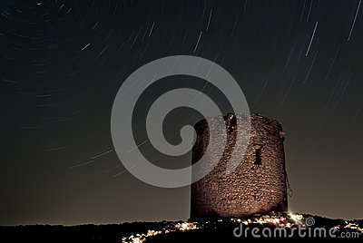 Startrails in Cala Domestica