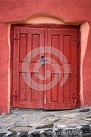 Stary drzwi