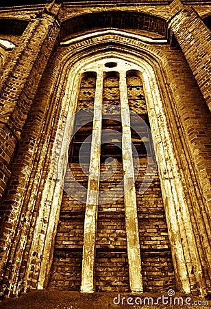 Stary kościół okno