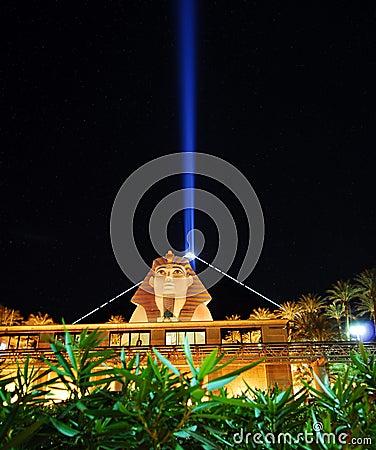 Luxor hotel Editorial Image