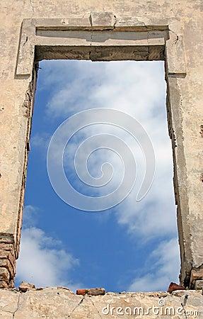 Stary okno