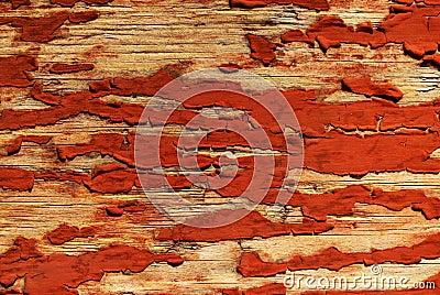 Stary paited drewno