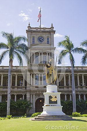 State Capital Building, Honolulu, Hawaii