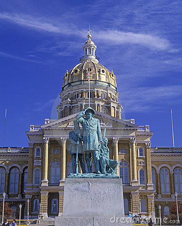 State Capitol of Iowa Editorial Photo