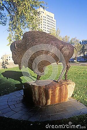 Free State Capitol Of North Dakota, Bismarck Royalty Free Stock Photos - 52259278