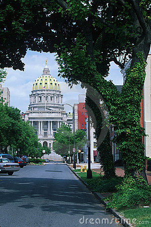 State Capitol of Pennsylvania, Editorial Image