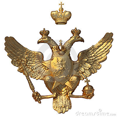 Free State Emblem Of The Russia Royalty Free Stock Photos - 18609868