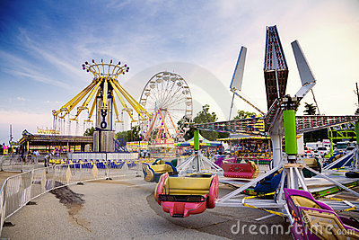 State fair Editorial Stock Image