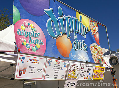 State Fair Food Editorial Stock Image