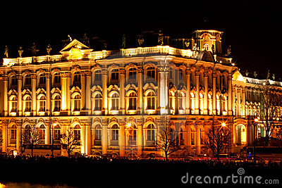 State Hermitage Museum (Winter Palace) - famous Ru