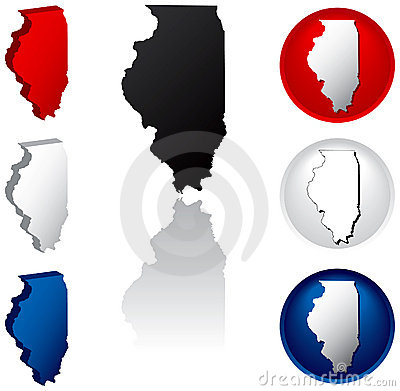 State of Illinois Icons