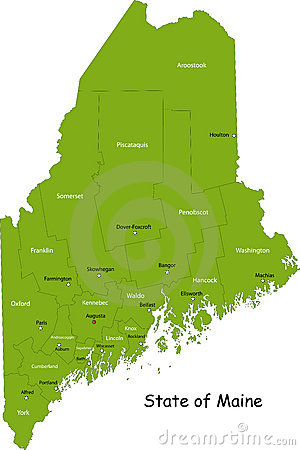 State of Maine, USA