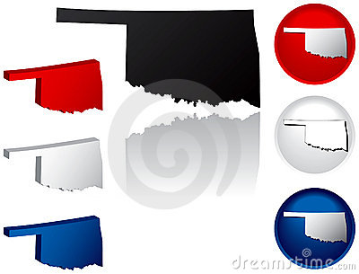State of Oklahoma Icons