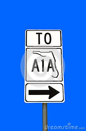 State Road A1A, Florida, USA