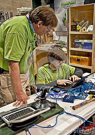State Teen Robotics Competition Editorial Stock Image