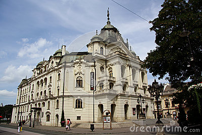 The State Theatre in Kosice, Slovakia Editorial Stock Photo