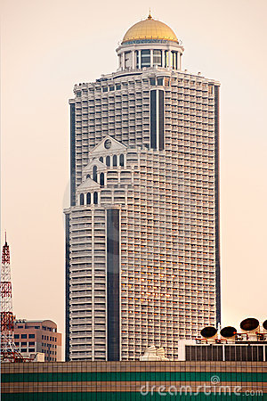 State Tower, Bangkok, Thailand. Editorial Stock Photo