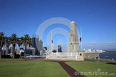 State War Memorial. Perth Editorial Image