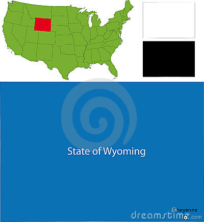 State of Wyoming, USA