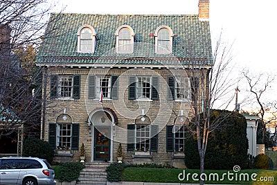 Stately Brick Home