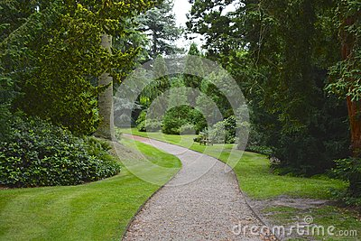 Stately home garden
