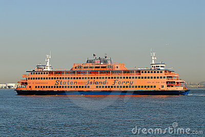 Staten Island Ferry Editorial Photo