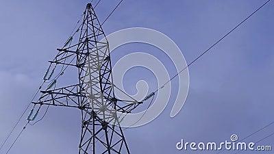 Station de transmission électrique, courant, tension, sécurité banque de vidéos