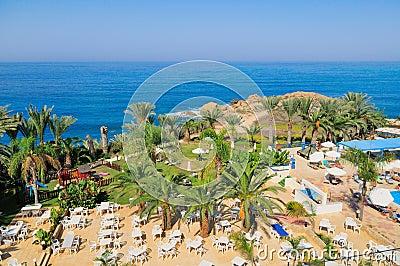Station de vacances méditerranéenne