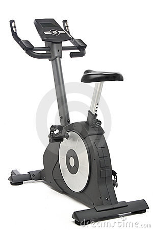 Stationary bike, gym machine