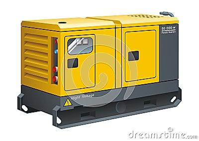 Stationary Diesel Generator
