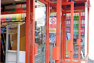 Stationary Shop Stock Photos - Image: 5649613