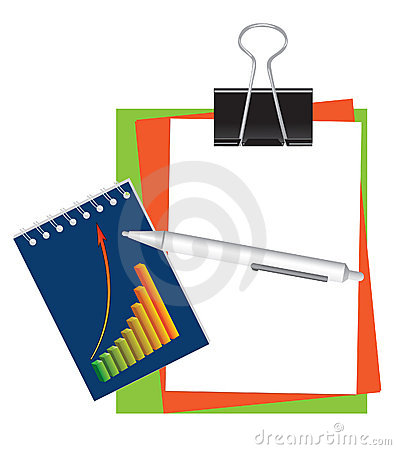 Free Stationery For Office And School Royalty Free Stock Photos - 9396728