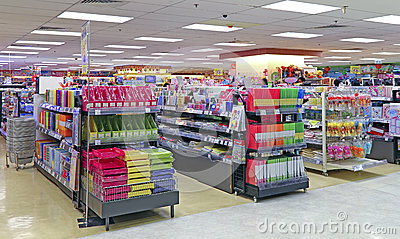 Stationery Products Store Editorial Image - Image: 60718510