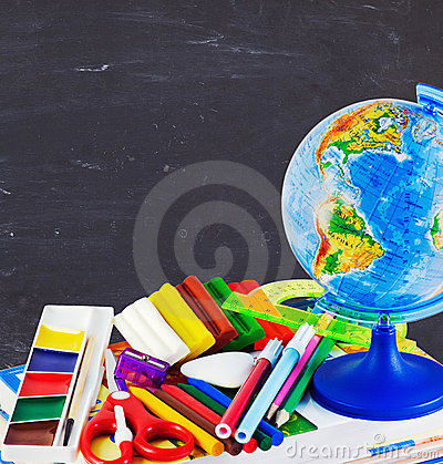 Stationery and school supplies