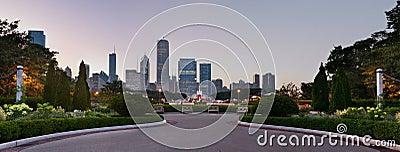Stationnement de Chicago Grant